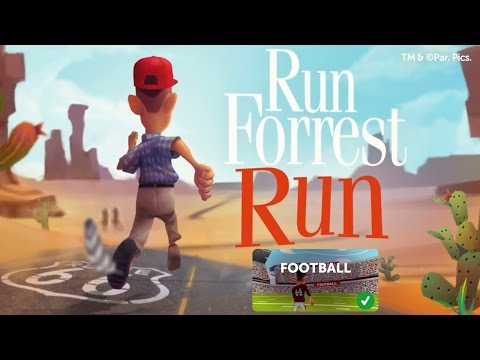Run Forrest Run - iOS / Android - HD (Football) Gameplay Trailer