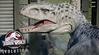 Indoraptor Helps Indominus Rex!!! - Jurassic World Evolution | Ep54 HD