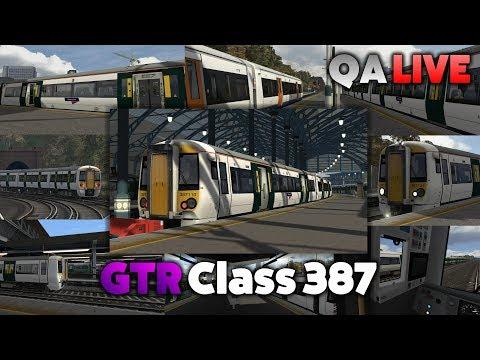TS 2017 - GTR Class 387: Brighton to Herne Hill - QA LIVE