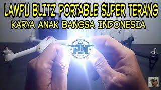 Lampu Blitz Portable Super Terang - Karya Anak Bangsa Indonesia
