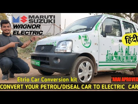 Regular Maruti Dzire converted into an electric car: How