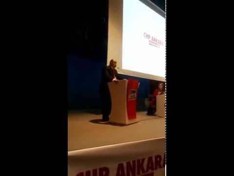 Altındağ İlçe Başkanı Av.Ozan Vural - CHP Ankara İl Denetleme Toplantısı 2014