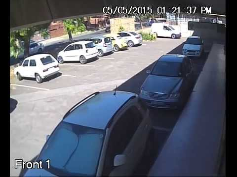 Armed robbery caught on camera in Pretoria on 05/05/2015