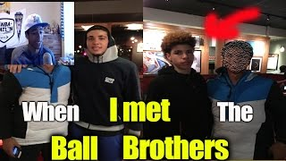 I MET LAMELO BALL (FaceCam)-Storytime The Ball Brothers Lamelo ball and Liangelo Ball! Chino Hills!