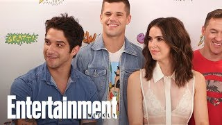 Teen Wolf: Shelley Hennig, Tyler Posey Tease Multiple Nude Scenes | SDCC 2017 | Entertainment Weekly