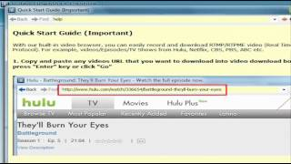 How to download/save/capture RTMP video