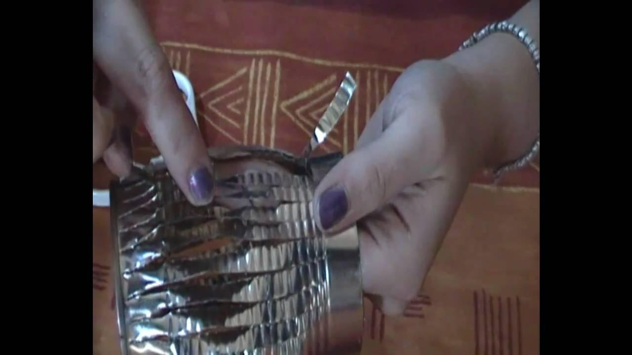 Lampada Barattolo Di Latta : Tutorial porta candele con barattolo di latta ^ ^ youtube