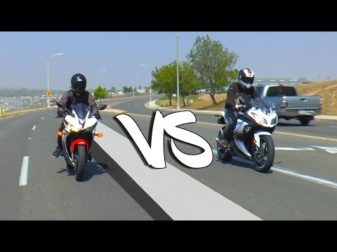 2016 Yamaha R3 VS Ninja 300 | REVIEW/DYNO