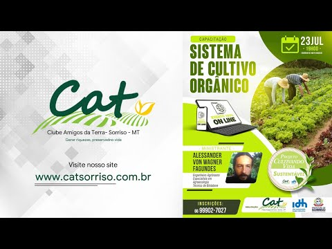 Projeto Cultivando Vida Sustentável - Sistema de Cultivo Orgânico