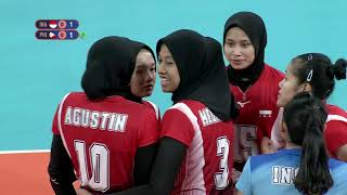 SEA Games 2019: Philippines VS Indonesia Women's Division | Volleyball