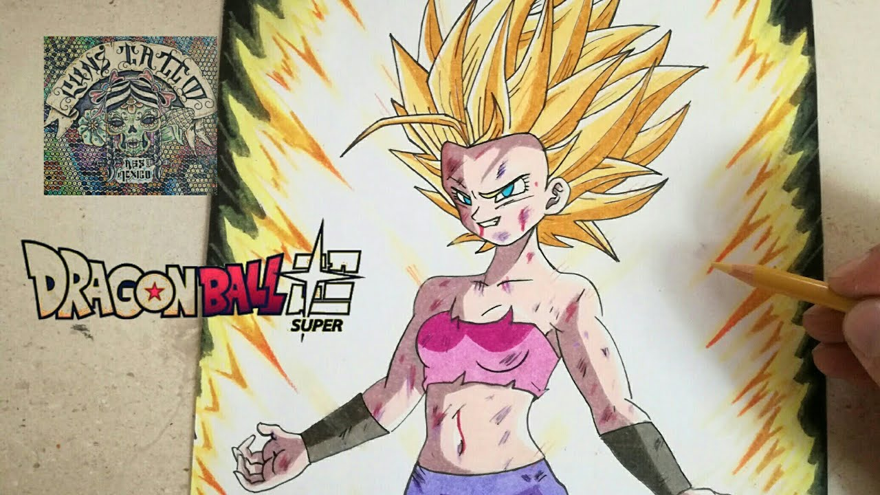 COMO DIBUJAR A CAULIFLA SSJ - DRAGON BALL SUPER / how to