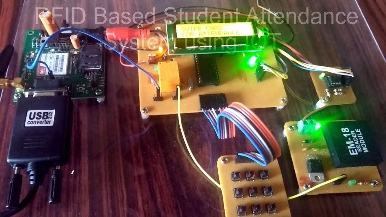Download RFID Based Student Attendance System Using IOT (PIC / ARDUINO/8051/ARM)