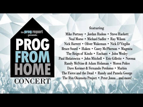 PROG FROM HOME Concert!