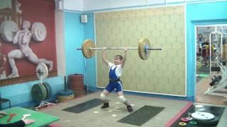 Маклаков Тимур, 13 лет, вк 46 Толчок 54 кг