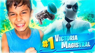 WIN WITH THE NEW ARMA and SKIN!!   Fortnite Battle Royale