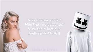 Marshmello & Anne-Marie - FRIENDS *OFFICIAL FRIENDZONE ANTHEM* || Traduzione in Italiano