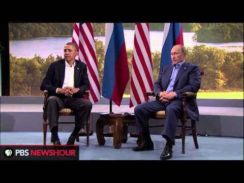 Watch President Obama and Russian President Putin Speak at the G8 Conference