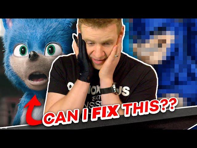 It's OK EVERYONE!! I can FIX SONIC the Hedgehog!