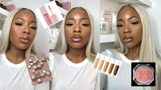 FENTY FACE: NEW CONCEALER, POWDER + HIGHLIGHTER REVIEW - FULL FACE FENTY BEAUTY
