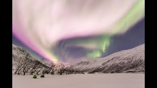 GSM Update 11/25/17 - Pink Auroras - Scotland Freeze - Texas Frack Quakes - Flooding