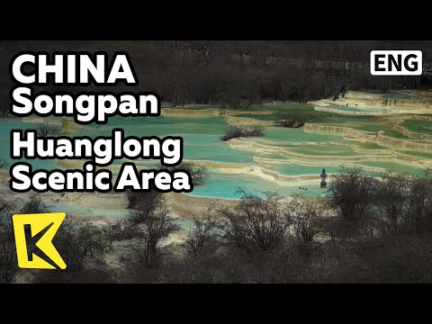 【K】China Travel-Jiuzhaigou[중국여행-주자이거우]황룽 풍경구/Huanglong scenic area/Huanglong Valley/Cable Car/Karst