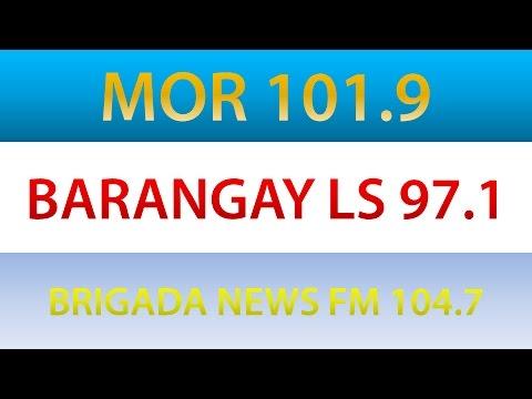 MOR 101.9 + Barangay LS 97.1 +  Brigada News FM 104.7 National Stigners/Station IDs 2017