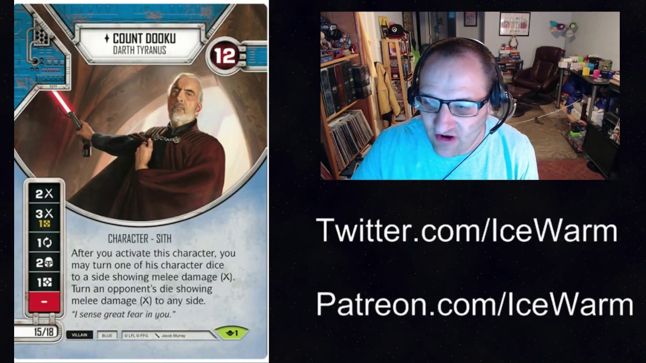 Star Wars Destiny Way of the Force 1 Count Dooku
