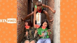 Funny videos 2019 ✦ Funny pranks try not to laugh challenge P106