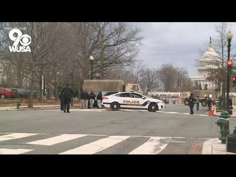 Virginia man arrested with gun, 500 rounds of ammo at US Capitol checkpoint, police report says