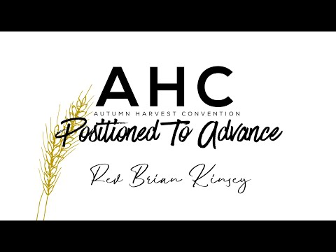 Rev Brian Kinsey | AHC 2020