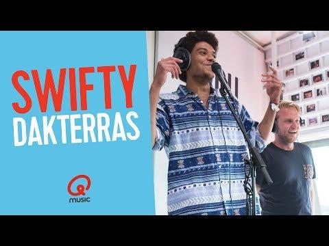 Swifty - 'Dakterras' live bij Qmusic // Joost en Hila