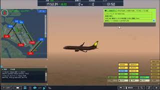 ぼくは航空管制官4 羽田2 1745~1820 (南風運用)