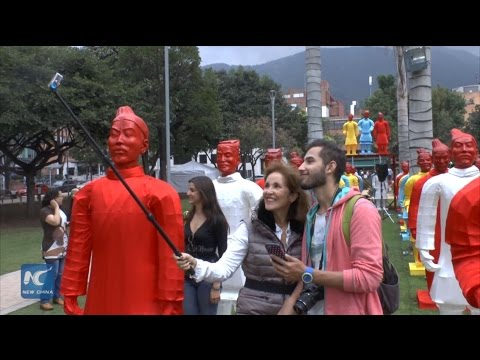 China and Colombia grow closer through art