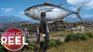 Highlight Reel #432 -  Final Fantasy Dropship Seems Fishy