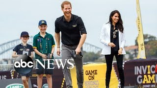 Meghan Markle and Prince Harry return to the Invictus Games