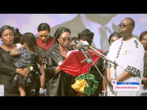 Pres. Mahama Pays His Last Respect to Komla Dumor