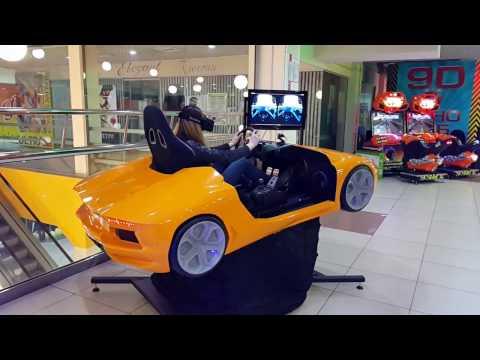 full motion Racing simulator with oculus rift