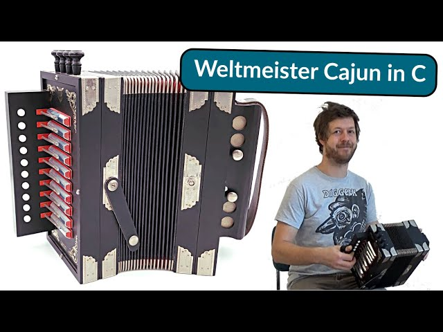 Weltmeister Cajun Accordion in C - Cajun tuned - Sous la Galerie | by Accordion Doctor
