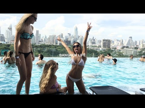 Crazy Bangkok pool parties