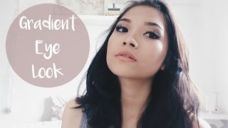 Gradient Eye & Nude Lip Makeup Look // Naked 2 Palette Tutorial