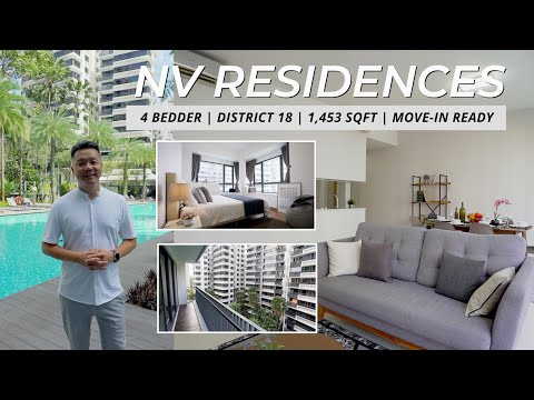 Pasir Ris NV Residences 4 Bedder Condo For Sale - Singapore Condo Property | Ron Chong