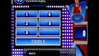 Wii Family Feud 2010 edition ep1 Thibodeau vs. Anderson