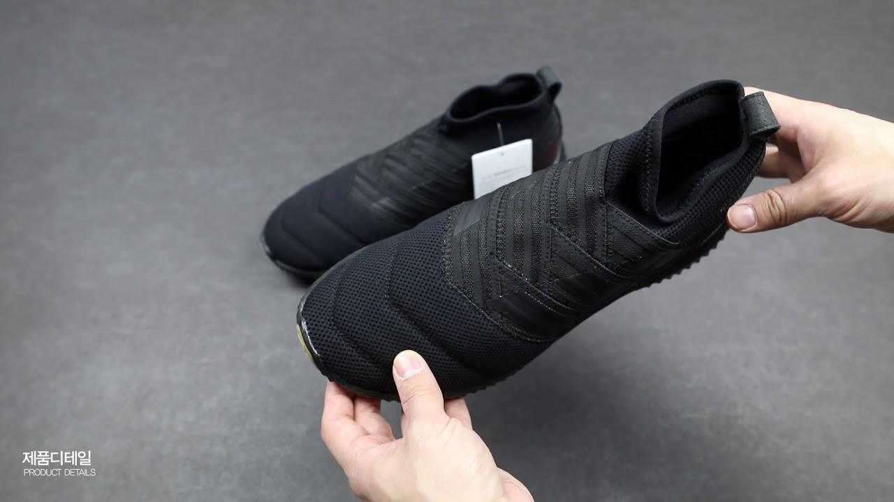 3ecfabef2 CAPO STORE   언박싱 - adidas NEMEZIZ MID CUT TR (BLACK) - YouTube