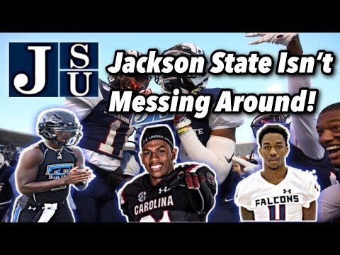 Jackson State Isn't Messing Around! (A Look Into Jackson States 2021 Class).