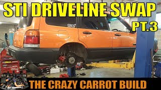STI DCCD DRIVELINE UPGRADE - BUILT SF FORESTER - THE CARROT BUILD [3]
