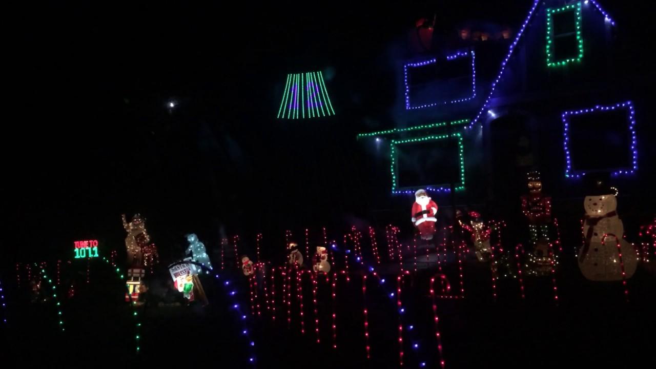 Seahawks Christmas Lights.Seahawks Christmas Light Show