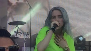 Billie Eilish - You Should See Me In a Crown full performance Lollapalooza 2018 Video