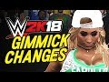 WWE 2K18 Top 5 UPDATED Gimmicks PART 2 NEW Gimmicks in WWE 2K18