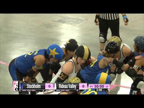 Dallas Game 7: Rideau Valley Roller Girls v Stockholm Roller Derby