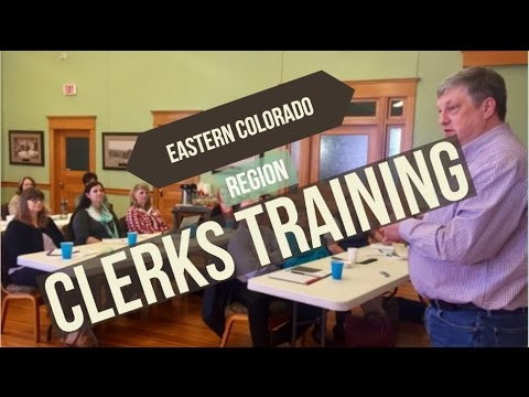 Eastern Colorado Region Clerks